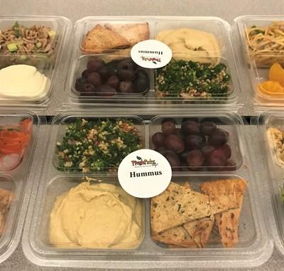 Hummus Bento Box
